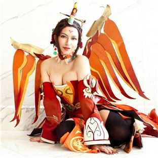 朱雀天使cosplay:好不好看你说了算