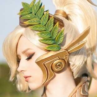 我要抱这个天使回家 胜利女神COS完整版